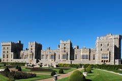 城堡英国windsor 免版税图库摄影