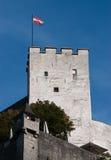 城堡萨尔茨堡 图库摄影