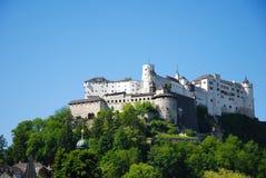 城堡萨尔茨堡 免版税库存图片
