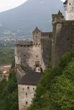 城堡萨尔茨堡 免版税库存照片