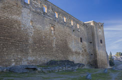 城堡萨维奥特侧面 图库摄影