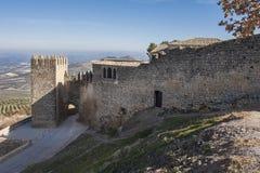 城堡萨维奥特词条 库存图片