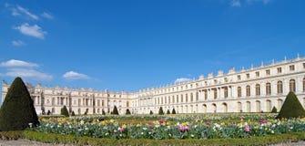 城堡著名法国宫殿皇家凡尔赛 库存照片