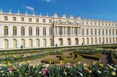 城堡著名法国宫殿皇家凡尔赛 免版税库存照片