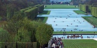城堡著名法国宫殿皇家凡尔赛 库存图片