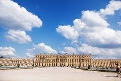 城堡著名法国宫殿皇家凡尔赛 图库摄影