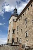 城堡西班牙托莱多 免版税图库摄影