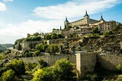 城堡西班牙托莱多 免版税库存照片