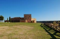 城堡西班牙语 免版税库存照片