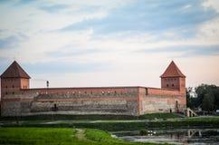 城堡视图 图库摄影