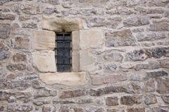 城堡视窗 免版税库存图片