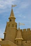 城堡详细资料沙子 免版税库存图片