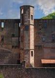 城堡详细资料 免版税库存图片