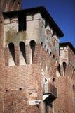 城堡详述中世纪 免版税库存照片