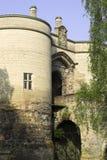 城堡诺丁汉 免版税图库摄影