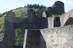城堡诺伊埃尔堡在埃菲尔山 免版税库存图片