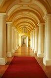 城堡走廊 免版税图库摄影
