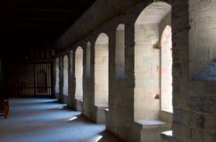 城堡轻的墙壁 库存照片