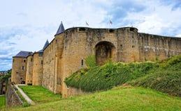 城堡轿车在法国 免版税库存照片