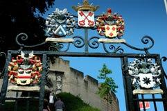 城堡近莱顿 库存图片