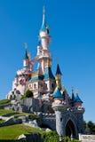 城堡迪斯尼乐园巴黎 免版税库存照片