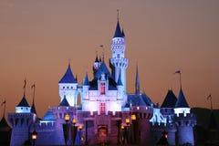 城堡迪斯尼 免版税库存照片