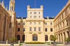 城堡遗产lednice站点科教文组织 免版税库存图片
