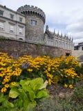 城堡都伯林爱尔兰 免版税图库摄影