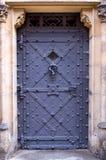 城堡门布拉格 免版税库存照片