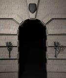 城堡门户 免版税库存图片