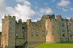 城堡门面 免版税库存图片