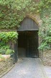 城堡门 免版税库存图片