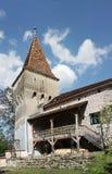 城堡防御塔 库存图片