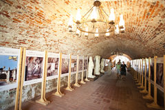 城堡隧道 免版税库存照片