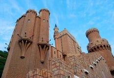 城堡零件 库存照片