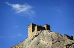 城堡领事热那亚人fortifiaction的堡垒 免版税库存图片
