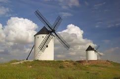 城堡风车16 免版税库存照片