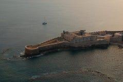 城堡马尼亚切 免版税库存照片