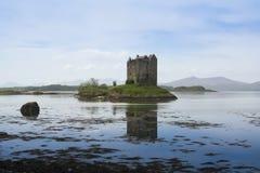 城堡高地linnhe海湾苏格兰潜随猎物者 库存图片