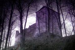城堡鬼魂stockenfels 库存照片