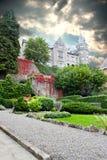 城堡魔术 图库摄影
