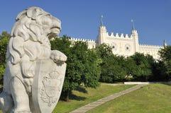 城堡鲁布林波兰 免版税图库摄影