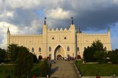 城堡鲁布林波兰 图库摄影