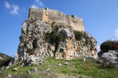 城堡黎巴嫩msailaha 库存照片