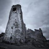 城堡黑暗 免版税库存照片