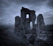 城堡黑暗 免版税库存图片