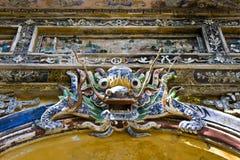城堡龙门越南 免版税库存图片