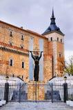 纪念碑在托莱多,西班牙 免版税库存图片
