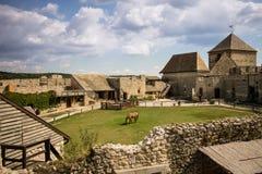城堡,堡垒在匈牙利 免版税库存图片