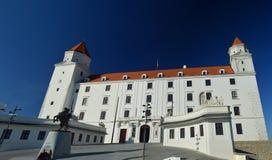 城堡,布拉索夫斯洛伐克 库存照片